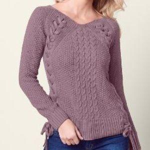 Cute lavender sweater - brand new